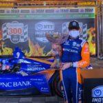 IndyCar: Скотт Диксон выиграл гонку в Техасе