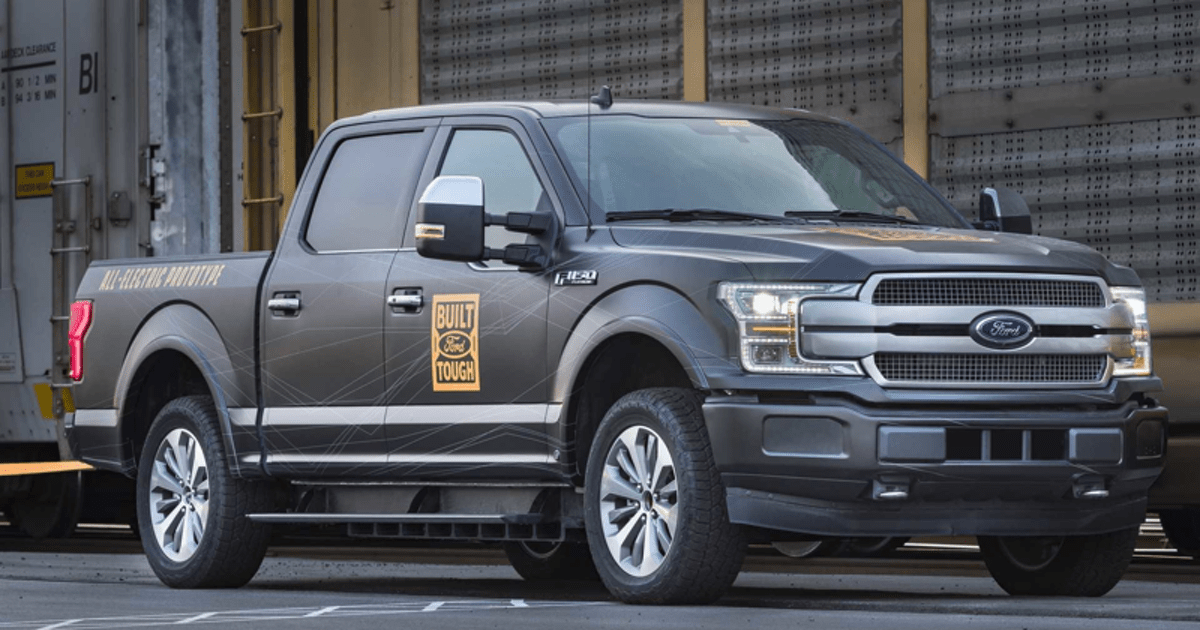 Ford F-150 станет электрическим в 2022 году