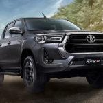Рестайлинговый пикап Toyota Hilux: богаче и комфортнее