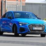 Седан и хэтчбек Audi S3 лишились камуфляжа до премьеры