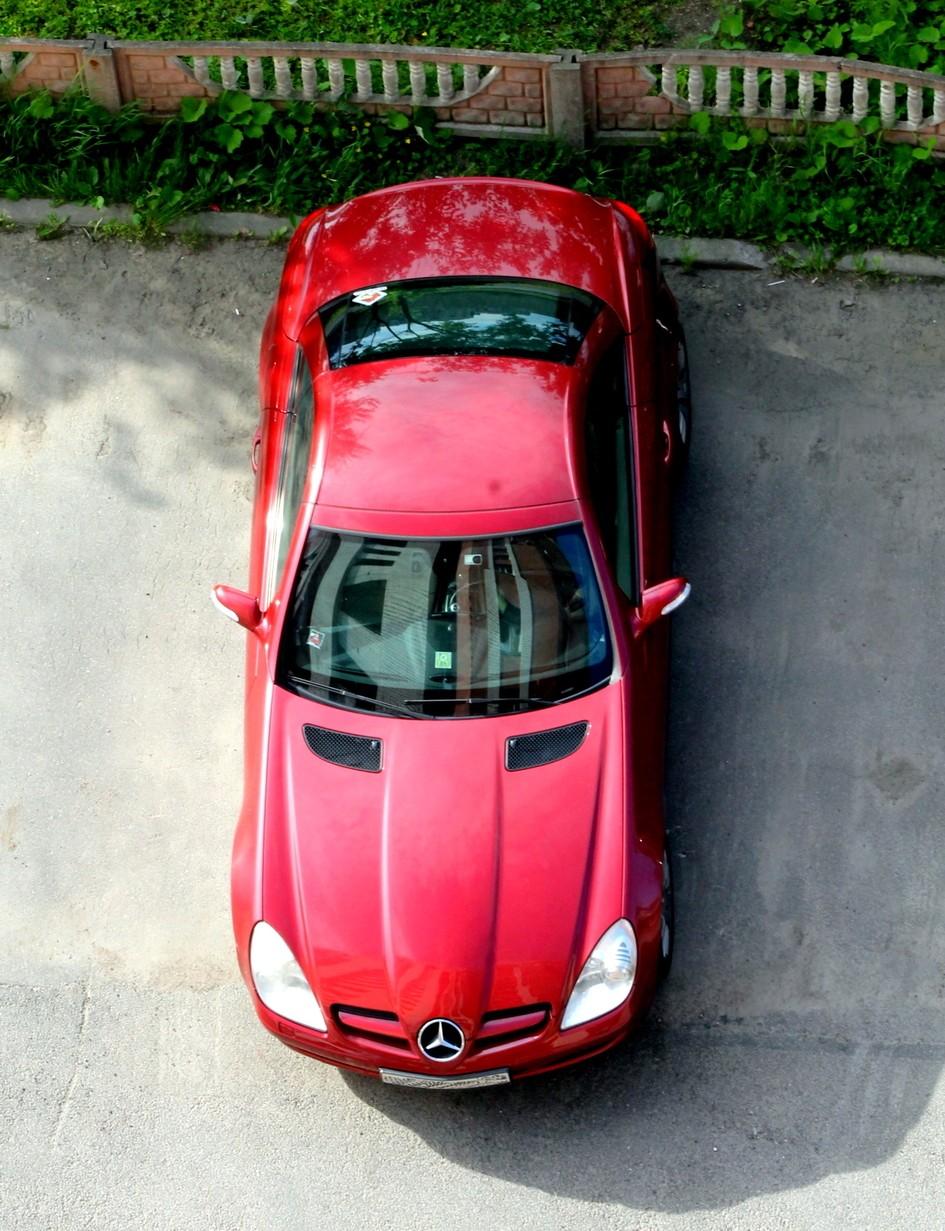 Тест-драйв подержанного Mercedes-Benz SLK: тебе и мне приятно