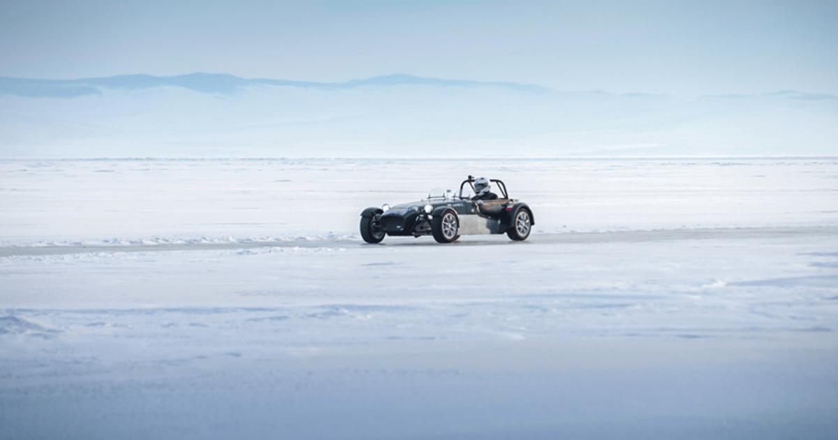 Как ставят рекорды скорости на льду Байкала