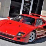 Практически как с завода: в продаже 28-летний Ferrari F40 с пробегом всего 300 км