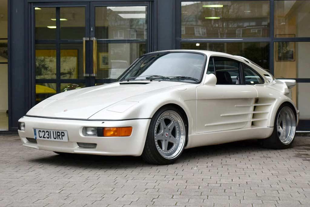 Для настоящих фанатов и коллекционеров: в продаже Gemballa Avalanche на базе Porsche 930