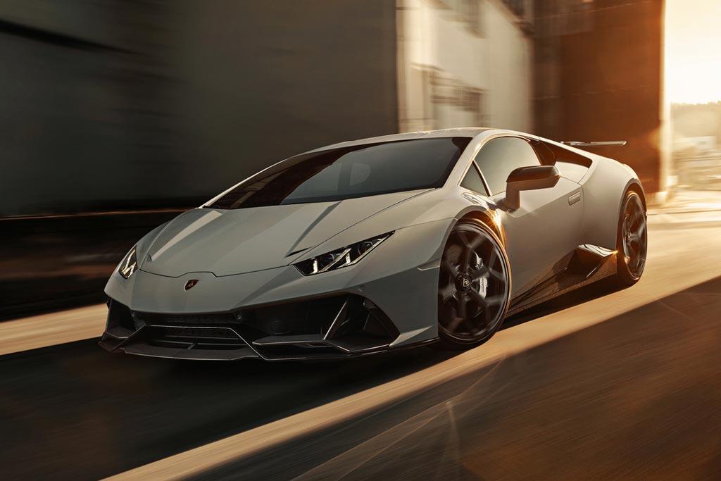 Специалисты Novitec украсили Lamborghini Huracan Evo фирменным обвесом