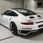 В компании Regula Exclusive разработали агрессивный кит для купе Porsche 911 Turbo S
