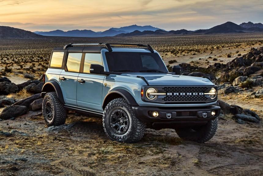 Новый Ford Bronco полностью рассекречен
