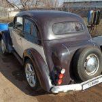 Мастер переделал Москвич-401 в двухдверку на манер довоенного Opel Kadett K38
