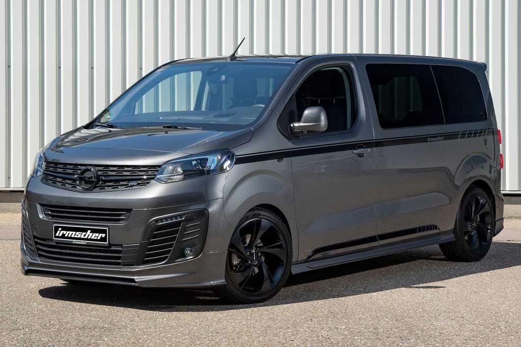 В ателье Irmscher добавили новому Opel Zarifa Life стиля и практичности