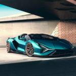 Суперкар Lamborghini Sian превратился в родстер без крыши
