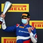 Александр Смоляр выиграл гонку Формулы 3 в Великобритании
