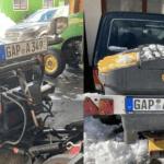 «Ниву» превратили в снегоуборщик и выставили на продажу в Германии (фото)