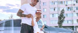 Экс-участник «Дома-2» посадил 8-летнего сына за руль
