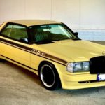 Найден отлично сохранившийся Mercedes 280CE 1983 в редком обвесе Zender