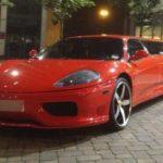 Лимузин на базе Ferrari 360 Modena хотят продать почти за 13 млн рублей