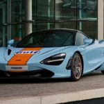 McLaren 720S окрасили в фирменную ливрею Gulf: весь процесс занял 20 дней