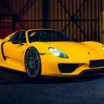 Почти новый Porsche 918 Spyder в цвете «Racing Yellow» продают за 90 млн рублей