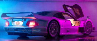 За дорожный Mercedes-Benz CLK GTR 1998 года планируют выручить $10 млн