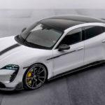 Porsche Taycan от Mansory: аккуратный карбоновый обвес и новые колеса