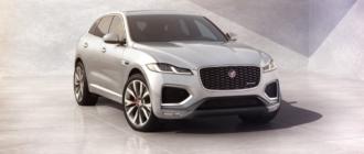 Объявлены цены Jaguar F-Pace 2022 модельного года