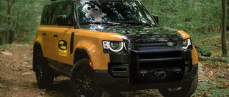 Land Rover Defender Trophy пошел по стопам предшественника
