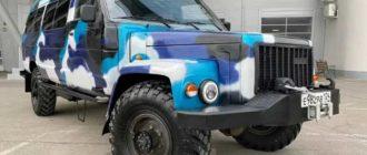 Микроавтобус скрестили с «Газоном»: автодом для езды по бездорожью