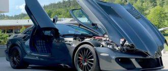 Доработанный в MSO суперкар Mercedes SLR McLaren 722 продают за ₽225 млн