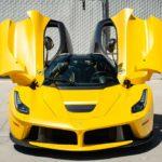 Ценник на желтый La Ferrari без пробега за шесть лет взлетел в три раза