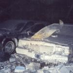 Машины после теракта 11 сентября: ранее не публиковавшиеся фото