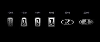 Более 10 вариантов: как менялся логотип «Лады» (видео)