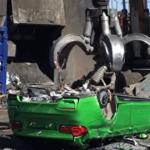 Полиция уничтожила уникальный универсал BMW M3 (видео)