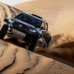 Новый высокопроизводительный Toyota GR DKR Hilux T1 + готовится к ралли Дакар 2022 года