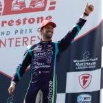 IndyCar: Роман Грожан поднялся на подиум в Лагуна-Сека