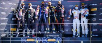 Константин Терещенко выиграл гонку и финишировал на подиуме в финале GT World Challenge Europe Sprint Cup в Валенсии