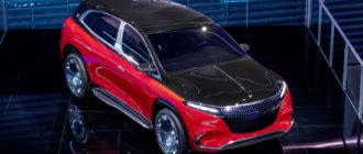 Представлен роскошный кроссовер Mercedes-Maybach EQS