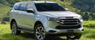 На российский рынок выйдет рамный внедорожник Isuzu MU-X