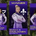 W Series: Гонку в Спа выиграла Эмма Кимиляйнен