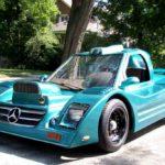 Самодельный причудливый Mercedes-Benz AMG C8 GTR продают за ₽5,5 млн