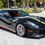 На торги выставлен Ferrari F12 Berlinetta с «патриотичной» окраской кузова
