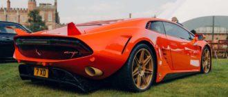 7X Design Rayo: уникальный 1 900-сильный гиперкар на базе Lamborghini Huracan