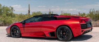 Родстер Lamborghini Murcielago LP640 в редком цвете оценили в 14,5 млн руб