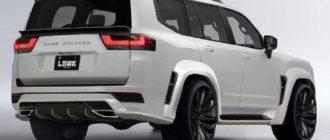 Toyota Land Cruiser 300 вскоре получит агрессивный обвес от Liberty Walk