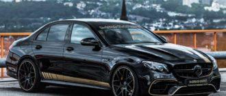 Manhart ER 800: тюнеры подготовили 800-сильный вариант Mercedes-AMG E63 S