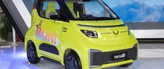 Микрокар Wuling NanoEV: ребрендинг и удешевление