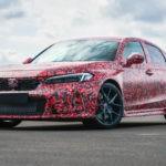 Новая «заряженная» Honda Civic Type R: пока в камуфляже