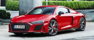 Заднеприводный Audi R8 стал мощнее и быстрее