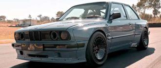 Тюнеры из ЮАР оснастили BMW 3-серии (E30) мотором V8 и кастомным обвесом