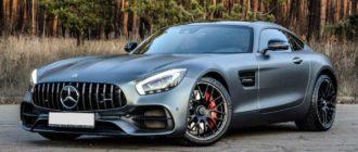 Суперкар Mercedes-AMG GT отправят в отставку без преемника