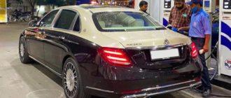 Китайцы придумали как стилизовать Mercedes E-Class под Maybach: всего за 110 000 руб