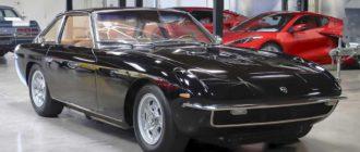 Четырехместный суперкар Lamborghini Islero 1967 года продают за 22 млн руб
